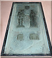 TL3761 : St Peter & St Paul, Dry Drayton - Brass by John Salmon