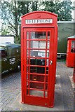 SO9568 : K6 Telephone Kiosk by John M