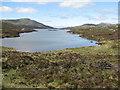 NG0587 : Loch Langabhat - south end by M J Richardson