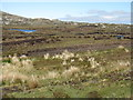 NG0587 : Peat cutting on the Peat Road by M J Richardson