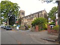 SJ8391 : Christ Church, West Didsbury by Gerald England
