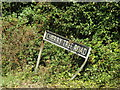 TM1088 : Cherry Tree Road sign by Adrian Cable