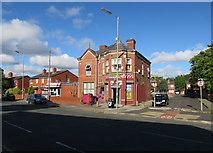 SJ3688 : Newsagents, Kingsley Road by Hugh Venables
