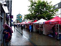 NY2623 : Thursday, market day Keswick by Norman Caesar