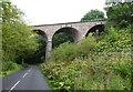 NT8537 : Viaduct on the old Kelso to Tweedmouth Railway by Russel Wills