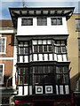 SO8932 : Jettied timber-framed building in Tewkesbury by Philip Halling