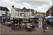 SJ2929 : Oswestry Market Square by John M