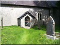 SS0299 : Disused church, Hodgeston, Pembrokeshire by welshbabe