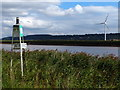 SE8516 : Navigation beacon on the bank of the River Trent by Mat Fascione