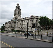 SJ8989 : Stockport Town Hall by Jaggery