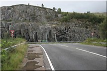 NM7682 : Junction of the A861 and A830 by Richard Sutcliffe