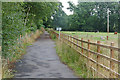 SX8376 : The Stover Way cycle path by Alan Hunt