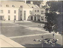 SX7962 : The Courtyard at Foxhole School in 1956 by Chris Reynolds