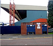 SJ8889 : Turnstiles 17-19, Edgeley Park, Stockport by Jaggery