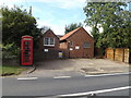 TL9174 : Honington Telephone Exchange & Telephone Box by Adrian Cable