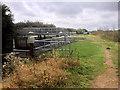 SP8966 : Nene Way approaching Upper Wellingborough Lock by David Dixon