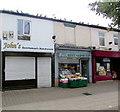 SJ8889 : John's and Jonns in Castle Street, Edgeley, Stockport by Jaggery