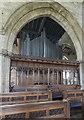 TA0322 : Organ, St Mary's church, Barton-Upon-Humber by Julian P Guffogg