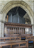 TA0322 : Organ, St Mary's church, Barton-Upon-Humber by Julian P Guffogg