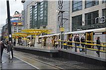 SJ8498 : Exchange Square Metrolink Station by N Chadwick