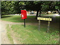 TL9076 : Park Ride Postbox by Adrian Cable
