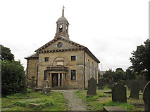 SE1730 : St John the Evangelist, Bierley: west end by Stephen Craven