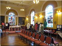 SE1730 : St John the Evangelist, Bierley: interior looking east by Stephen Craven