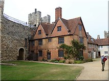TM2863 : Framlingham Castle [2] by Michael Dibb