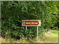 TL9569 : Roadsign off Kiln Lane by Adrian Cable