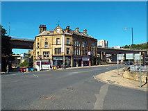 SE0925 : Northgate, North Bridge and Dean Clough, Halifax by Malc McDonald