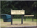 TL9370 : Walsham Road sign by Adrian Cable