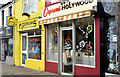 J3979 : Chippy and ice cream parlour, Holywood (September 2016) by Albert Bridge