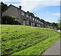 ST3090 : Row of houses on a bank above Graig Wood Close, Malpas, Newport by Jaggery