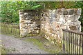 NT2359 : Remains of Low Mill, Valleyfield Penicuik by Jim Barton