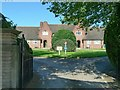SK5238 : Abel Collin's almshouses, main entrance by Alan Murray-Rust