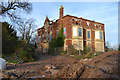 SP3678 : Derelict Copsewood Grange east of the Marconi site, Stoke, Coventry by Robin Stott