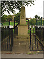 SE1535 : Bolton Woods war memorial, Livingstone Road, Bradford by Stephen Craven