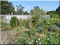TR3068 : The Victorian Walled Garden at Quex Park by Marathon