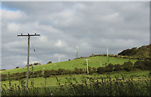 NX1896 : Radio Mast, Wood Hill by Billy McCrorie