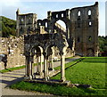 SE5785 : Rievaulx Abbey by PAUL FARMER