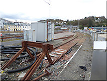 NM8529 : Siding at Oban railway station by Thomas Nugent