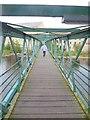 NZ0415 : Thorngate footbridge by Oliver Dixon