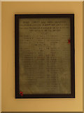 SE2837 : War memorial in the former Highbury Works by Stephen Craven