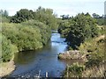 NU1900 : View downstream along the River Coquet by Graham Robson