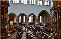 TA0322 : Barton on Humber, St. Mary's Church: The attempt to beat the world record (15,534) for knitted teddy bears 5 by Michael Garlick