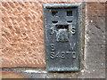 NS4927 : Ordnance Survey Flush Bracket S4970 by Peter Wood