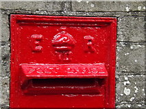 TL9566 : Cypher on Stanton Farm Edward VII Postbox by Adrian Cable