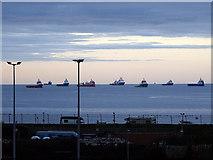 NJ9505 : Near the North Pier Aberdeen by John Lucas