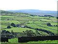 NY7347 : Farmland by Corby Gates Farm by Mike Quinn