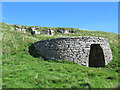 NY7540 : Old lime kiln and quarry north of Ashgill Bridge by Mike Quinn